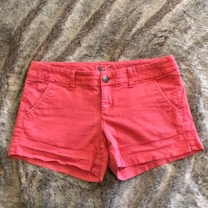 America Eagle Pink Shorts